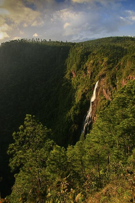 Thousand Foot Falls Belize