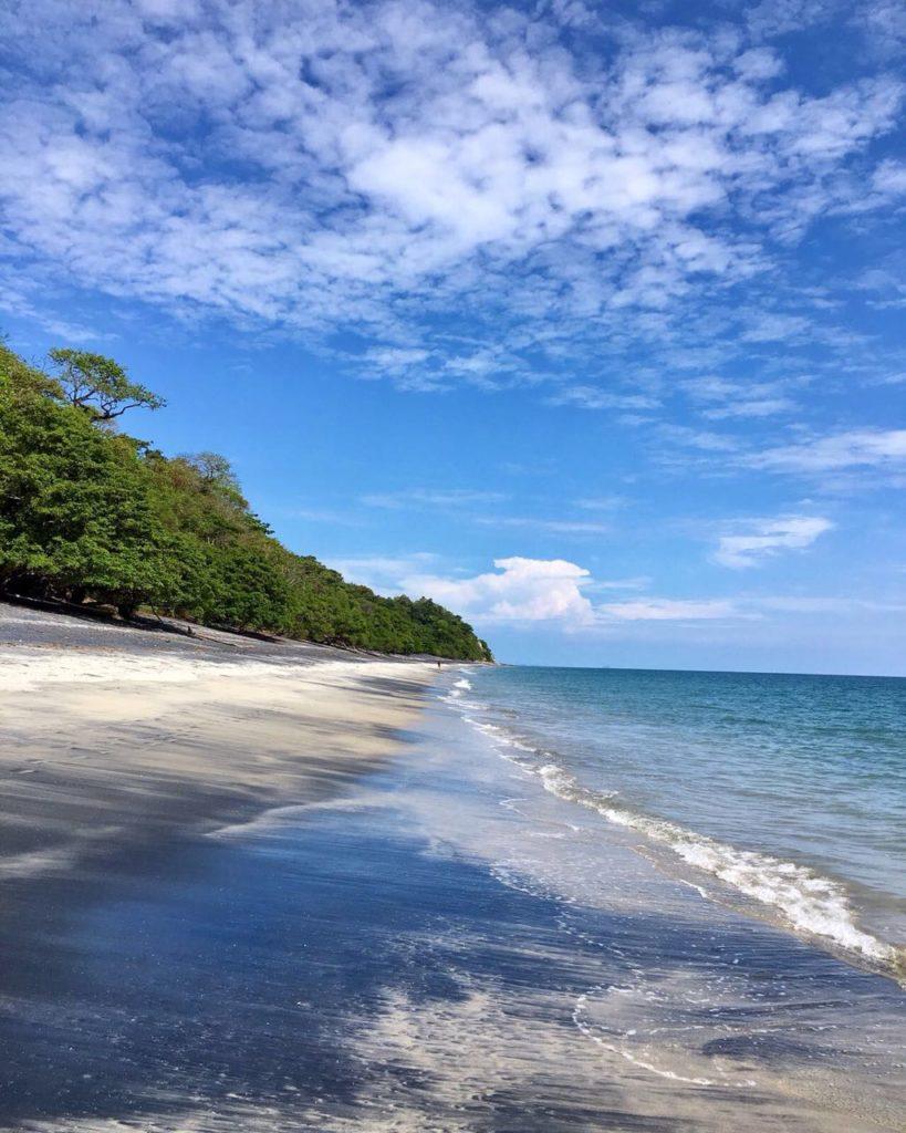 Pacific Ocean Beach Panama