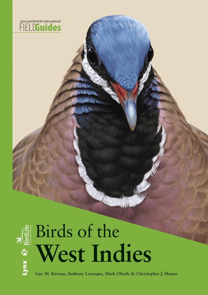 Cover from Birds of the West Indies, by Kirwan et al 2019