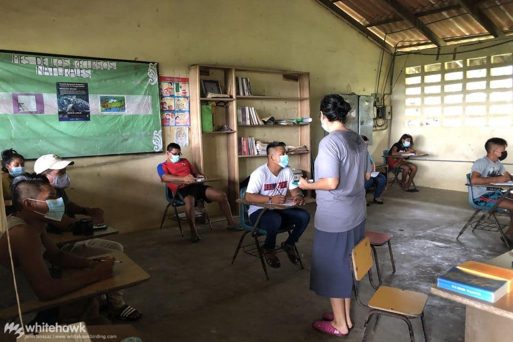 Teaching English in Darien Panama Whitehawk Birding